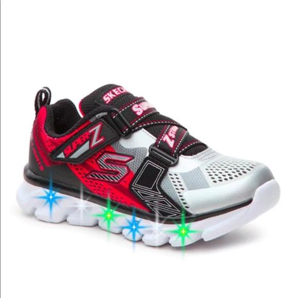 f01168a0951b Sketchers light-up boy sneakers